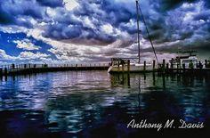 Dramatic Sky and Boat Docks in Edenton North by anthonymdavis, 12.00