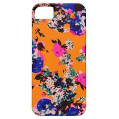 Abstract Floral Pattern iPhone 5/5s iPhone 5/5S Cases