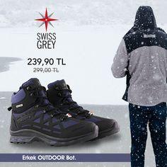 SwissGrey Erkek outdoor botlar %20 indirimde! 📦 Ücretsiz kargo. 🏷 Ürün Kodu: 700-1111M Jordans Sneakers, Air Jordans, Boots, Outdoor, Fashion, Crotch Boots, Outdoors, Moda, Heeled Boots