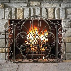 1000 Images About Fireplace Screen On Pinterest