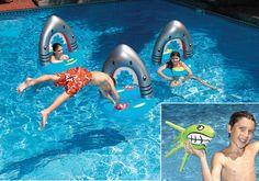 Swimline Shark Rings Slalom   Toss Game Item #9061 $30