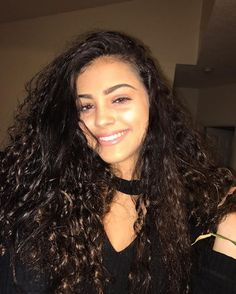 Malu Trevejo Outfits, Smile Tumblr, Curly Hair Styles, Natural Hair Styles, Hispanic Women, Black Barbie, Belly Dancers, Real Beauty, Clear Skin