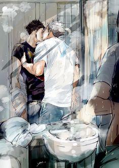 #bokuto #akaashi #hq