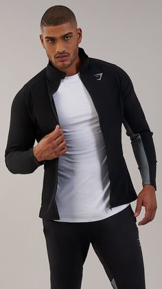 Designed with your performance in mind, the Gravity Track Top is sleek, lightweight and form-fitting. Coming soon in Black and White. Swag Outfits, Sport Outfits, Cute Black Guys, Look Man, Hipster Man, What To Wear Today, Sport Fashion, Fashion Men, Classy Men