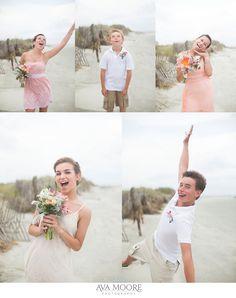 Wild Dunes Family Wedding | Greg & Michelle » Ava Moore Photography
