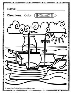 #Thanksgiving Fun! Color For Fun Printable Coloring Pages - 42 coloring pages - #Free Thanksgiving Coloring Page in the Preview Download! #TPT #FernSmithsClassroomIdeas $Paid