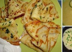 Thin pancakes with potatoes - My favorite recipes Crepe Recipes, New Recipes, Vegetarian Recipes, Snack Recipes, Cooking Recipes, My Favorite Food, Favorite Recipes, Good Food, Yummy Food