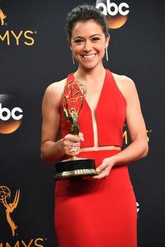 Tatiana Maslany finally wins the Emmy