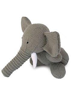 Finn's Pick: Knit Elephant by Sarah Keen – FREE Pattern! | KnitHacker