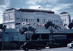 Raffles Hotel, 1957-58.