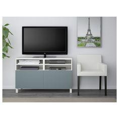 BESTÅ mueble TV+puertas