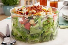 Weight Watchers BLT Salad - 5 Smartpoints | Weight Watchers Recipes