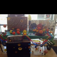 Transitional Kindergarten family Solar System Projects