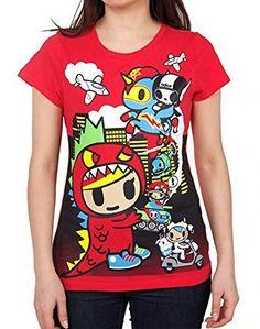 Tokidoki Lil Kaiju Red T-shirt, http://www.amazon.com/dp/B00YIBVABA/ref=cm_sw_r_pi_awdm_x_cM34xbE8F3G3B