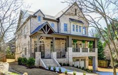New Traditional Construction Calls For Almost $1M Address: 1149 Thornwell Dr NE, Atlanta, GA 30319 Neighborhood: Brookhaven 4 Beds | 3.5 Baths | 3,800 sqft | Built in 2016 | Listed on 03/10  Not sure it'll garner the price tag since it only has 4 bedrooms on a 0.2 acre lot - the house pretty much takes up the entire space. However, we do love the grey theme throughout the interior and the beige theme on the exterior. The owner bought the old building in 2014 for $260,000.