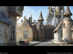 Magic Town Street (3D) [] Mortimer Beckett Environmentsby [] by Aleksandar Jovanovic