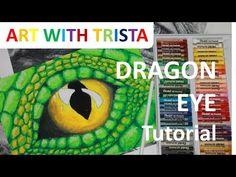 Art With Trista - Dragon Eye Tutorial Eye Drawing Tutorials, Drawing Projects, Drawing Lessons, Art Lessons, Art Projects, Dragon Eye Drawing, Dragon Art, Teaching 5th Grade, Fairytale Art