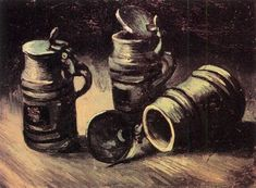 Beer Tankards 1885 Vincent van Gogh