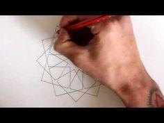 How to draw Islamic geometry - full tutorial - YouTube