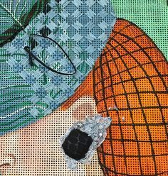It's not your Grandmother's Needlepoint: M'Bellishment by Meredith Willet