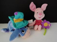 Eeyore and Piglet Plush Star Bean Collection - Shade Lovin' & Flower Sniffin  #FisherPrice