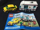 Lego City 4435 Town Car and Caravan Set - Missing Bike and Campfire - NO Box - Bid Now! Only $10.0
