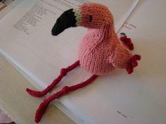 Free knitting pattern: Amigurumi Flamingo - Portland knitting | Examiner.com