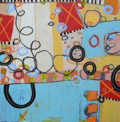 Susan Finsen, Bethany Beach Bingo (48x48)