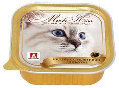 Консервы для кошек «Зоогурман» MURR KISS индейка с телятиной в ламистере, 100 г