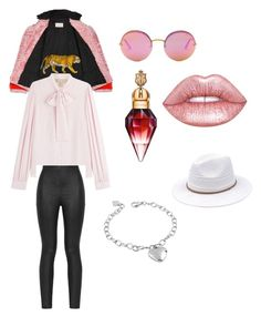 """""""Chained to the rhythm"""" by roryco on Polyvore featuring B Brian Atwood, Gucci, Michael Kors, Armani Jeans, Lime Crime and West Coast Jewelry"""