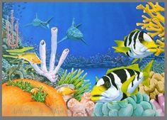 Another reef scene by markstewart on DeviantArt