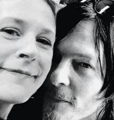 Carol is the only woman I will accept Daryl cheating on me with.