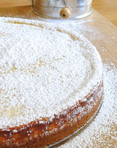 Easy to make Sicilian Ricotta Cheesecake with graham cracker crust. Tested Italian cheesecake recipe that can be topped with berries or powdered sugar. Sicilian Ricotta Cheesecake Recipe, Ricotta Cheese Cake Recipes, Italian Cheesecake, Cheesecake Recipes, Pie Recipes, Dessert Recipes, Lemon Ricotta Cake, Skillet Recipes, Pumpkin Cheesecake