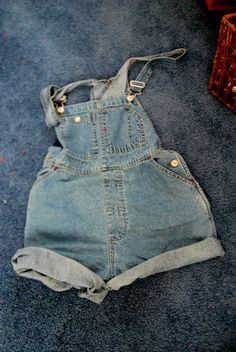 Cute Overall Shorts by AlllisonMarie on Etsy