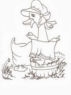 desenho semaninha da dona pata -segunda