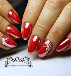 In order to provide some inspirations for your winter nail art designs, we have specially collected 72 winter nails red colors for your short nail designs. I hope you can find a satisfactory style from them. Red Nail Art, Pretty Nail Art, Red Nails, Short Nail Designs, Cute Nail Designs, Nail Art Hacks, Easy Nail Art, Valentine Nail Art, Nagellack Design