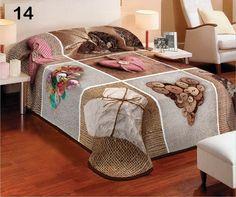 3D deka a prehoz béžovo hnedej farby s motívom sŕdc Table, Furniture, Home Decor, Decoration Home, Room Decor, Tables, Home Furnishings, Home Interior Design, Desk