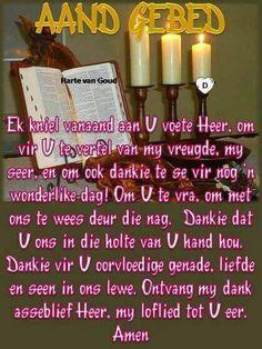 Prayer Quotes, Bible Verses Quotes, Uplifting Christian Quotes, Evening Greetings, Afrikaanse Quotes, Goeie Nag, Worship Songs, Prayer Board, Good Morning Good Night