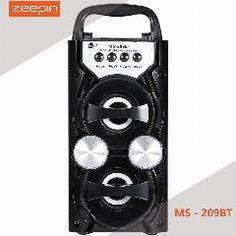 [ 21% OFF ] Zeepin Ms - 209Bt Portable High Power Output Fm Radio Wireless Bluetooth Speaker Supports Fm Tf Card Volume Control
