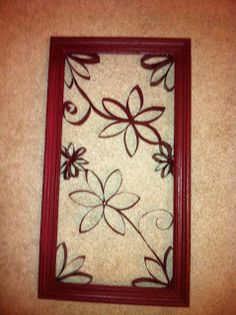 Crafty Creations by Amberoni: Toilet Paper Roll Wall Art