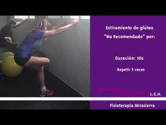 Estiramiento de glúteos en padel Physical Therapy, Stretches