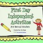 FREE: My students trickle in on the first day, so I am not able to do an activity with them all at once. I needed something for them to do indpendently w...