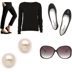 """Audrey Chic"" by stylewithclass on Polyvore  - Timeless pieces."