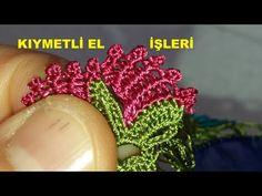 Bir yerde görmediğiniz çok güzel tığ oyası yapımı - YouTube Crochet Motif, Crochet Lace, Make It Yourself, Blog, Needle Lace, Youtube, Crochet Flowers, Barbell, Crochet Trim