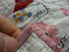 Sewn into the Fabric:  Single Fold Binding for Art Quilts