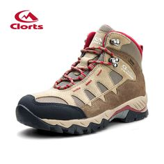 57.12$  Buy here - http://alis3m.worldwells.pw/go.php?t=32493329509 - 2017 Clorts Womens Hiking Boots Waterproof Outdoor Mountain Climbing Boots Suede Leahter For Women Free Shipping HKM-823B/E/F