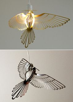 Bird Light Bulb Clip And Book Marker By Hung Ming Chen | The Style Files.