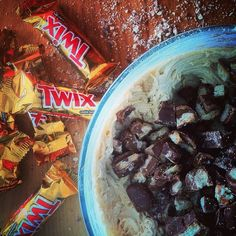 Twix cookies are pretty much happiness