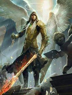 Archangel Michael defending the negativity. .......