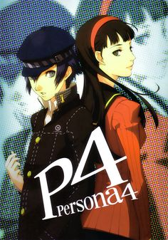 Naoto and Yukiko- Persona 4